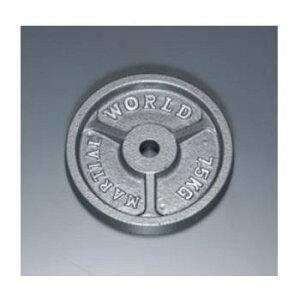 マーシャルワールド アイアンプレート穴径28mm 7.5kg P7500 バーベル/ダンベル用