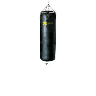 Martial world leather training bag 110 < stock > TBPRO110 punching heavy bag P15Aug15