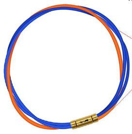 【納期約3-4週間】セブ SEV スポーツネックレス ルーパータイプ3G ブルー2本/オレンジ