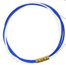 【納期約3-4週間】セブ SEV スポーツネックレス ルーパータイプ3G ブルー2本/ホワイト