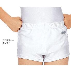 SASAKI ササキスポーツ 体操 ジム短パン #590 フロスティーホワイトFW