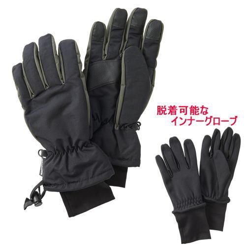 プロモンテ PuroMonte ウィンタートレールグローブ 手袋 GB056U ブラック/グレー