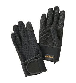 プロモンテ PuroMonte UVケア リストサポート付 トレッキンググローブ GB059U 手袋 ブラック
