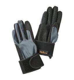 プロモンテ PuroMonte UVケア リストサポート付 トレッキンググローブ GB059U 手袋 グレー