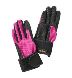 プロモンテ PuroMonte UVケア リストサポート付 トレッキンググローブ GB059U 手袋 マゼンタ