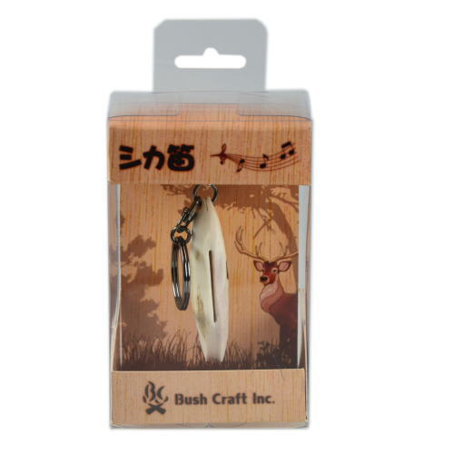 Bush Craft ブッシュクラフト シカ笛 エゾジカ工芸品