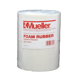 Mueller ミューラー テーピング 緩衝材 フォームラバー オープンセル のり付き 6mm 060252