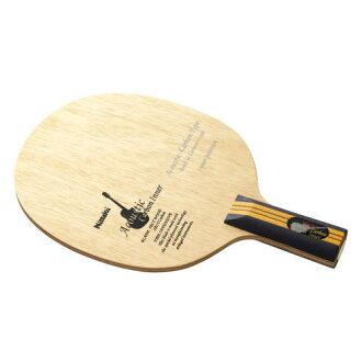供Nittaku nittaku桌球球拍音響的碳界內C NC-0192中國式攻擊使用的直握拍
