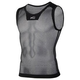 Millet ミレー ドライナミック メッシュ ノースリーブ ランニング用 アンダーシャツ MIV01248 ブラック