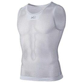 Millet ミレー ドライナミック メッシュ ノースリーブ ランニング用 アンダーシャツ MIV01248 グレー
