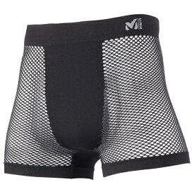 Millet ミレー ドライナミック メッシュ ボクサーパンツ ランニング用 アンダーパンツ MIV01250 ブラック