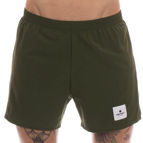 SAYSKY セイスカイ ランニングパンツ ショーツ Pace Shorts 6MRSH2 Rifle Green<店頭在庫限り>