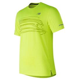 edc04727b652a new balance ニューバランス ランニング NB ICE v2グラフィックショートスリーブTシャツ AMT81201 HIL<店頭