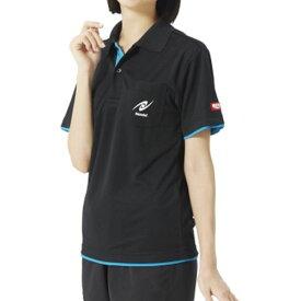 Nittaku ニッタク 卓球ウエア 男女兼用 レイヤーシャツ NW2172 71 ブラック