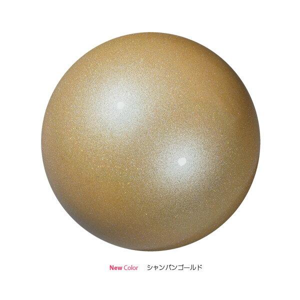 SASAKI ササキ 新体操 オーロラボール M-207AU シャンパンゴールドCHGD<店頭在庫限り>