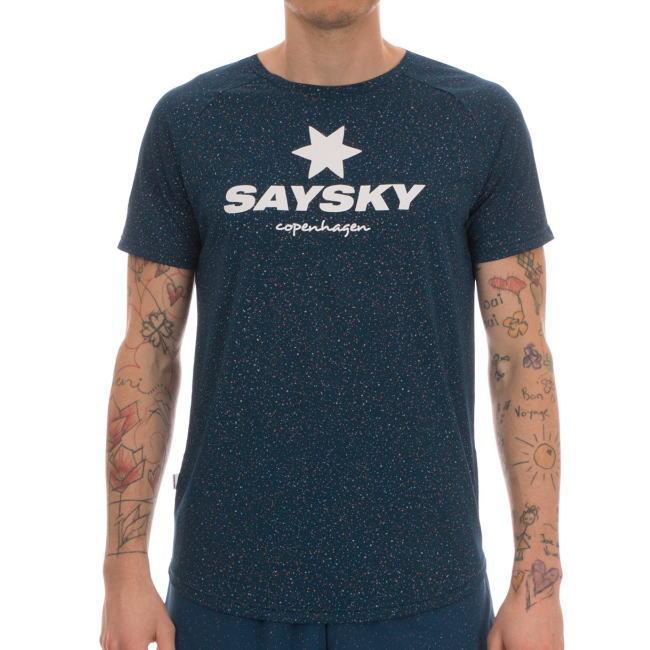 SAYSKY セイスカイ ランニング半袖Tシャツ Universe SS Tee 6MRSS11 Poseidon Universe<店頭在庫限り>