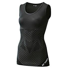 YONEX ヨネックス 着圧コンプレッション レディース タンクトップ シャツ STBA1505 007 ブラック