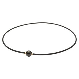 phiten ファイテン RAKUWAネック X100 ミラーボール ブラック/ゴールド 45cm 羽生結弦使用モデル TG640052