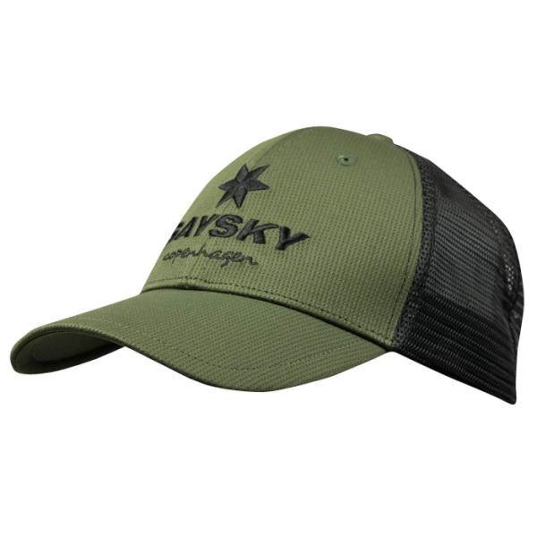 SAYSKY セイスカイ ランニング キャップ 帽子 TRAIL CAP AMAHA11 BLACK / RIFLE GREEN