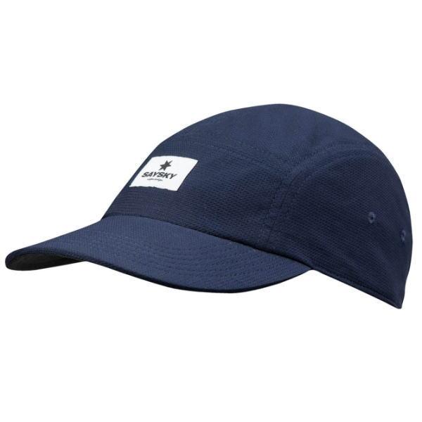 SAYSKY セイスカイ ランニング キャップ 帽子 NO MIRACLES REVERSE CAP AMAHA13 Blue/Caviar Black