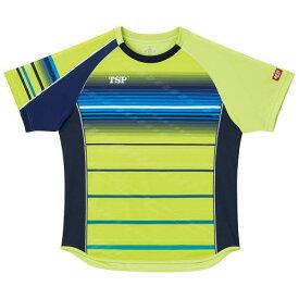 TSP ヤマト卓球 男女兼用 卓球ゲームシャツ クラールシャツ 031428 ライム