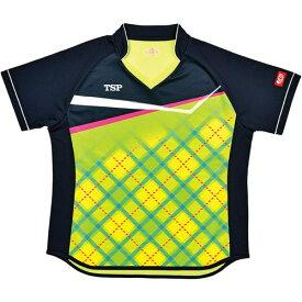 TSP ヤマト卓球 ウエア レディース ゲームシャツ レディスサナールシャツ 032415 0280 ライム