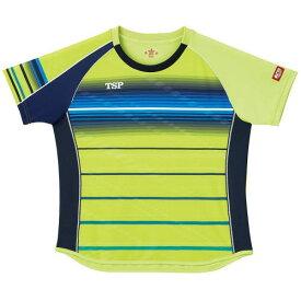 TSP ヤマト卓球 ウエア レディース Tシャツ レディスクラールシャツ 032416 0300 ライム