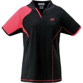YONEX ヨネックス バドミントン ゲームシャツ レディース 20443 007 ブラック