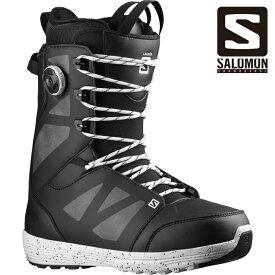 サロモン ブーツ 21-22 SALOMON LAUNCH LACE SJ BOA Black ラウンチ レース ストレートジャケット ボア スノーボード 日本正規品 予約
