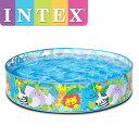 INTEX ハッピーアニマルクリアビュースナップセットプール ME-1701(58474NP) インテックス HAPPY ANIMALS CLEARVIEW S...