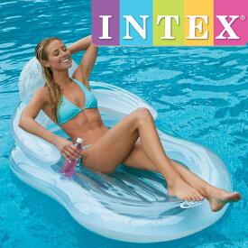 INTEX フローティングコンフォートラウンジ U-5103(58857NP) インテックス 155×97cm