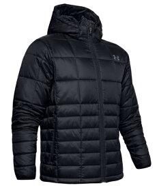 UNDERARMOUR アンダーアーマー アーマー インサレート フード ジャケット 中綿ジャケット 防寒 1342740-001(ブラック/ピッチグレー) 19FW