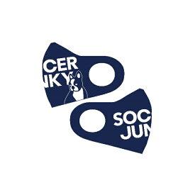 【ネコポス対応】soccer junky ファッションマスク スポーツマスク SJ20375-21(ネイビー) 返品交換不可!!
