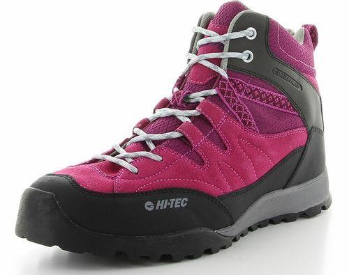 ハイテック ウイメンズ(女性用) トレッキングシューズ ライトハイキング HI-TEC HT HKU06 53142604 ピンク