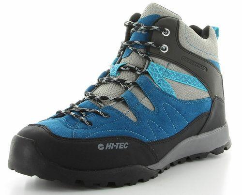 ハイテック メンズ(男性用) トレッキングシューズ ライトハイキング HI-TEC HT HKU06 53142605 ブルー