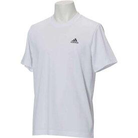 ワンポイントTシャツ M ESSENTIALS パックTシャツ 男女兼用 アディダス ETZ84 CX3348 ホワイト×ブラック