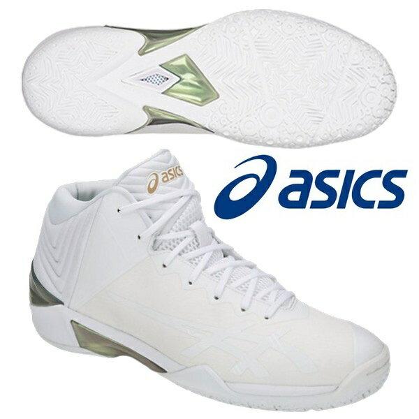 アシックス バスケットボールシューズ ゲルバースト22 WIDE TBF32G-0101 ワイド 幅広 限定