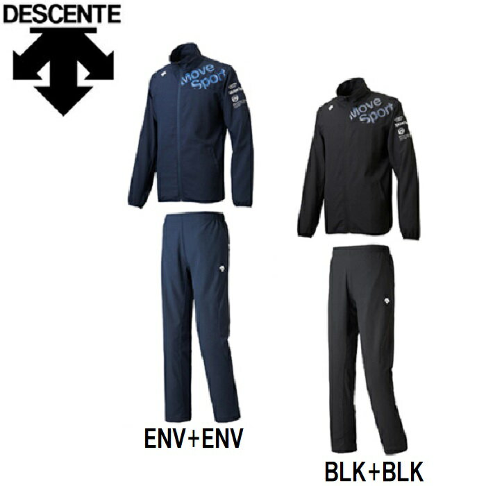 (セール)デサント DESCENTE ムーヴスポーツ Move Sport ハニカムクロス上下セット DMMLJF18-DMMLJG18 2018SS
