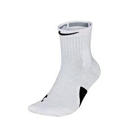 【ネコポス対応】NIKE ナイキ バスケットボール Elite Mid Socks エリート クルーソックス SX7625-100