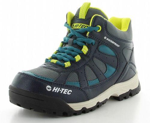 ハイテック ジュニア トレッキングシューズ ライトハイキング HT HKJ07 53120285 ネイビー