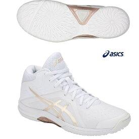 アシックス バスケットボールシューズ asics LADY GELFAIRY8 ゲルフェアリー8 TBF403-100 ホワイト×フローステッドアーモンド ウィメンズ バスケシューズ 18FW