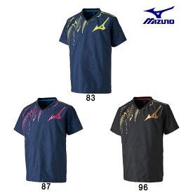 ミズノ MIZUNO ブレーカーシャツ 半袖ピステシャツ ユニセックス V2ME8501 2018AW