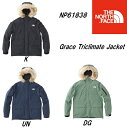 THE NORTH FACE ノースフェイス グレーストリクライメートジャケット THE NORTH FACE Grace Triclimate Jacket NP61838