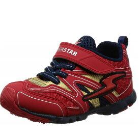 ムーンスター キッズシューズ 男の子 バネのチカラ moonstar スーパースター 男児 スニーカー 子供靴 ボーイズ 通園 運動靴 K783 12283422 レッド