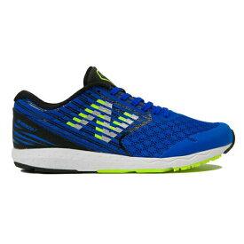 ニューバランス ジュニア キッズ ハンゾー NB YPHANZ HANZOJ ジョギング マラソン ランニングシューズ YPHANZB2 (B2)BLUE/LIME 19FW