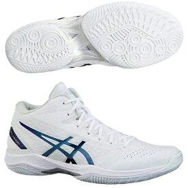 アシックス バスケットボールシューズ GELHOOP V11 ゲルフープV11 レギュラー 1061A015-120 ホワイト/プリズムブルー 19FW