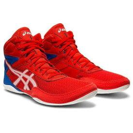 asics アシックス レスリングシューズ MATFLEX6 マットフレックス6 1081A021-600 CLASSIC RED/WHITE