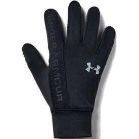 アンダーアーマー UNDER ARMOUR 手袋 グローブ ジュニア トレーニングウェア UA BOYS ライナー グラブ 1345406 001 ブラック/ブラック/アッシュグレー 19FW