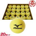 小さなボールを打ってミート力を磨け!ミズノ インパクトトレーナー専用ボール 20個入り トレーニングボール 野球 少年 一般 トレーニング用品 ※通常のバットでも使えます 1gjbt10500