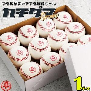 あなたの「夢」を応援する硬式練習球「カチダマ」です! 野球 硬式ボール 1ダース 硬式野球ボール 練習球 カチダマ b004-d